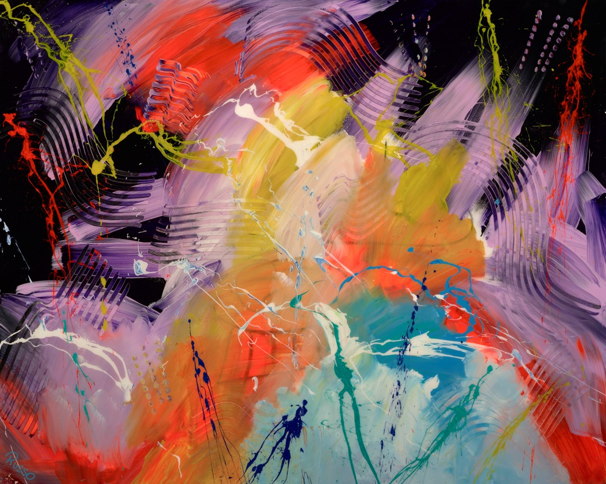 Kiss The Earth - Ambient House by antonio russo -  sized 60x48 inches. Available from Whitewall Galleries